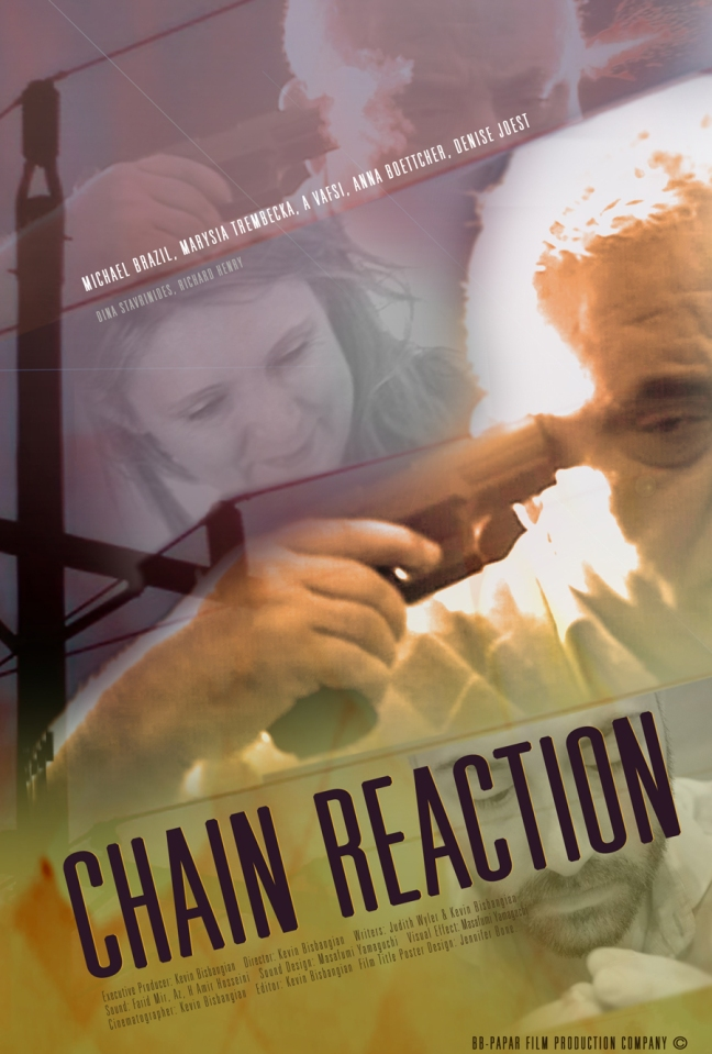 imdb chain reaction concept and film poster design © jennifer bone 2014