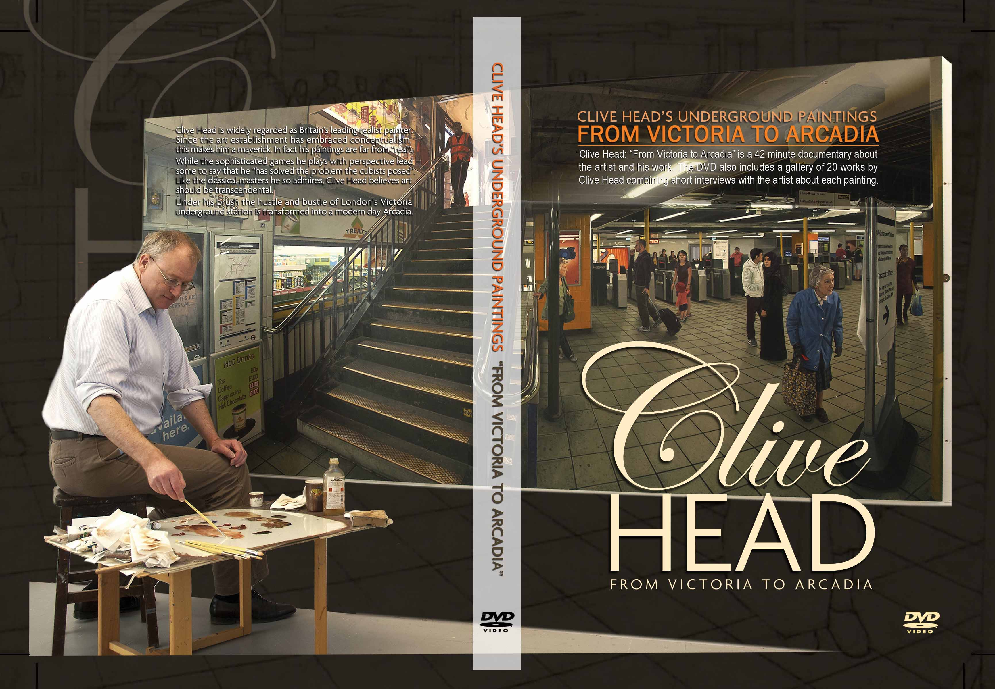 "Clive Head has been described as ""the most significant British painter of his generation"". His work challenges the conceptualist orthodoxy of Damien Hirst, Tracey Emin and Nicholas Serota through a radical reinvention of the painting tradition. In this documentary the award-winning film-maker Bill Cran profiles the artist and his work. The DVD also includes a gallery of twenty works by Head, combining short interviews with the artist about each painting."
