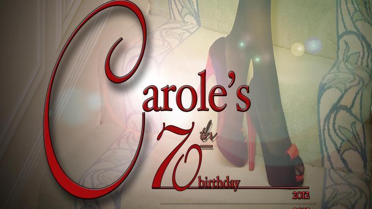 carole's 70th b'day